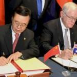 Австрали, Хятад улс Чөлөөт худалдааны гэрээ байгуулав